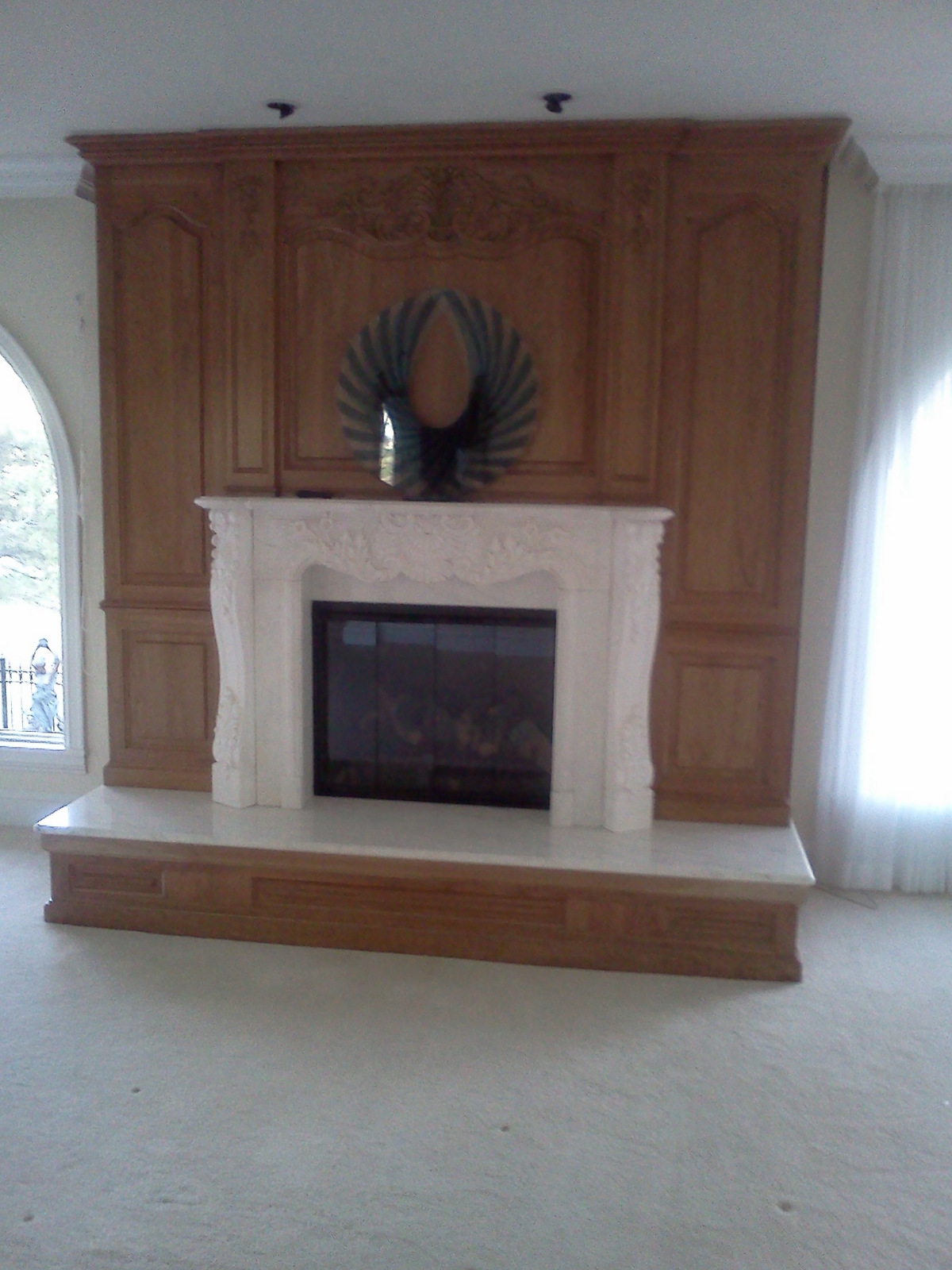 fireplace remodel Longmont