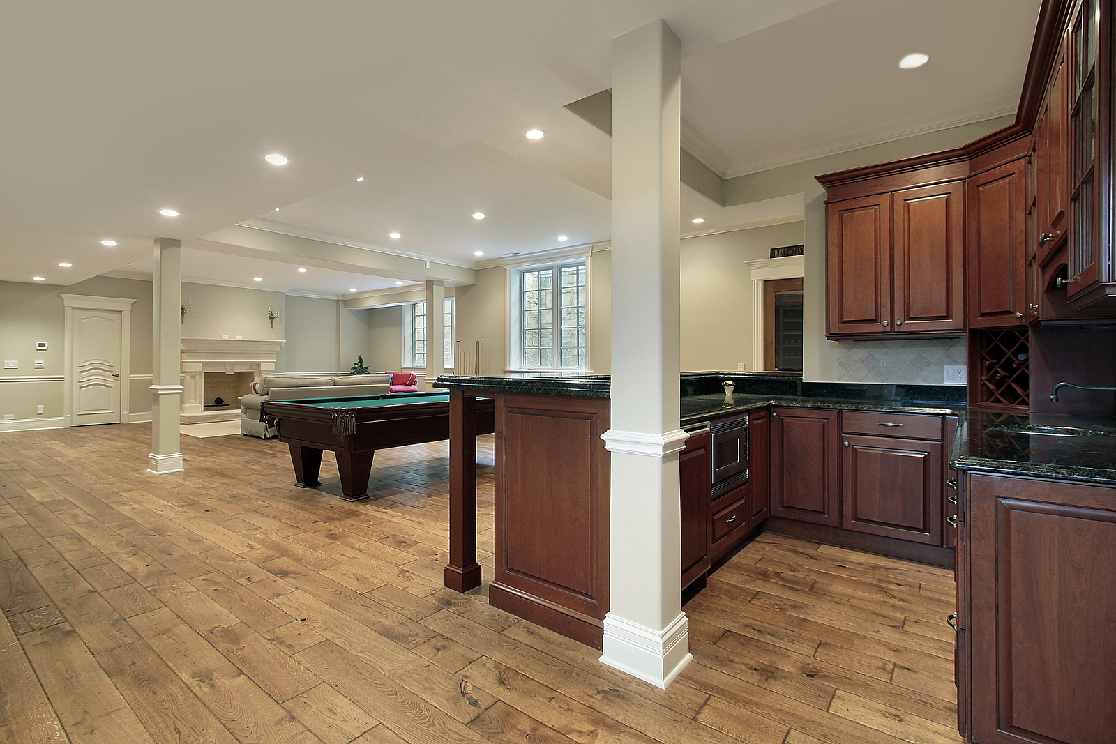basement remodeling contractors. basement finishing game room bar remodeling contractors