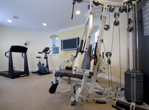 Basement Contractors Home Gym