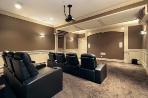 Basement Home Theater Longmont