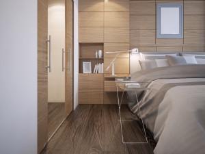 Custom Bed Guest Room Longmont