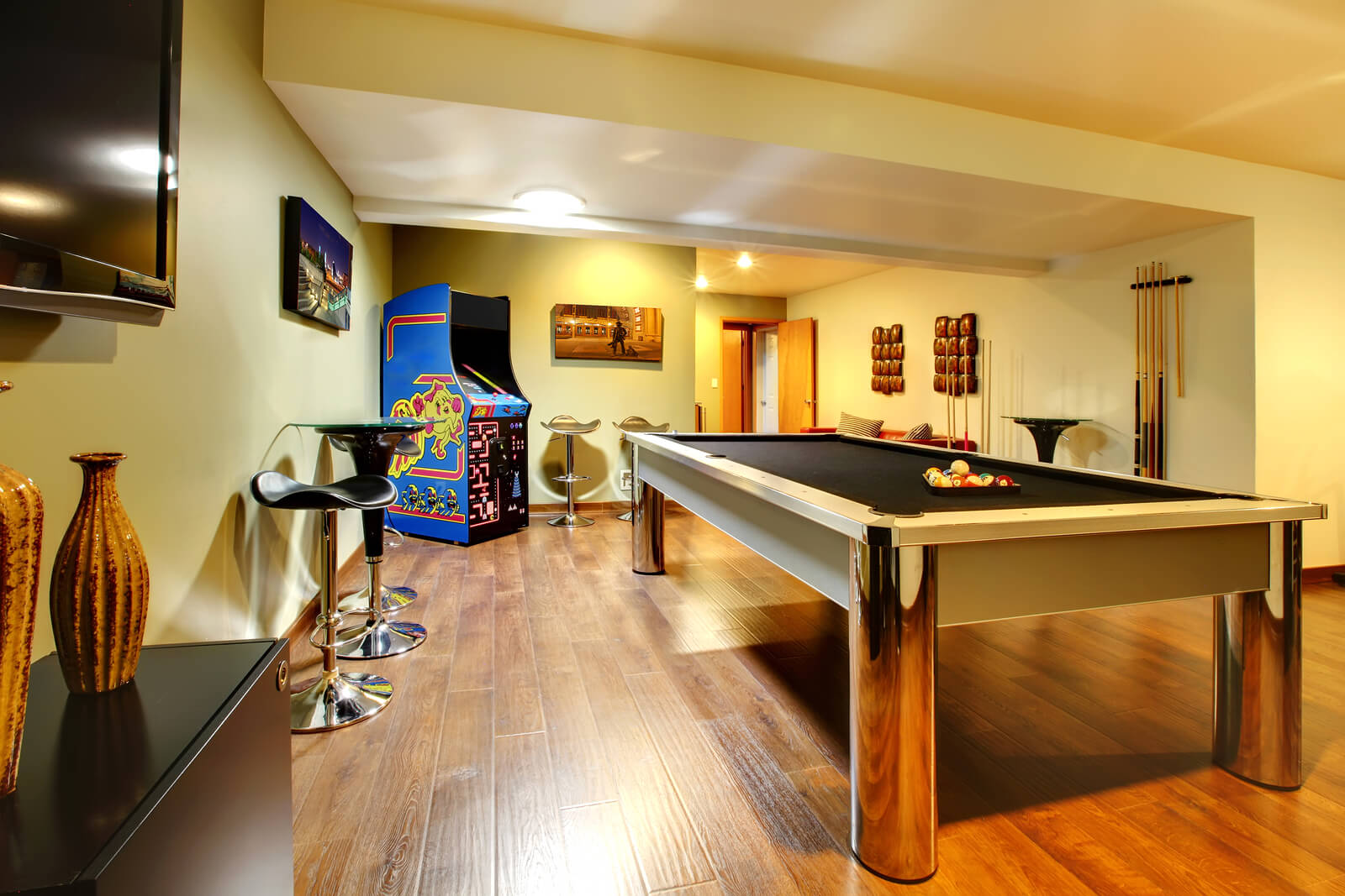 A Warm Inviting Basement Remodel Kbc Remodeling Services
