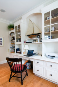 Custom Home Office Workspace Longmont