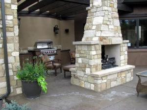 outdoor dining room Longmont